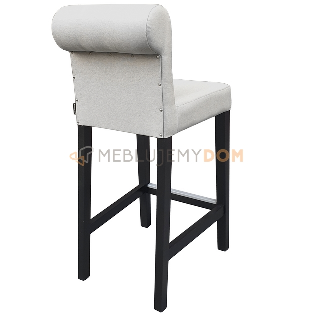 Bar Stool Narrow Pik With Buttons And Roller 93 Cm