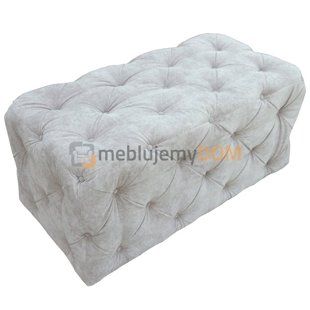 pouf chesterfield 97 x 50 cm meblujemydom. Black Bedroom Furniture Sets. Home Design Ideas