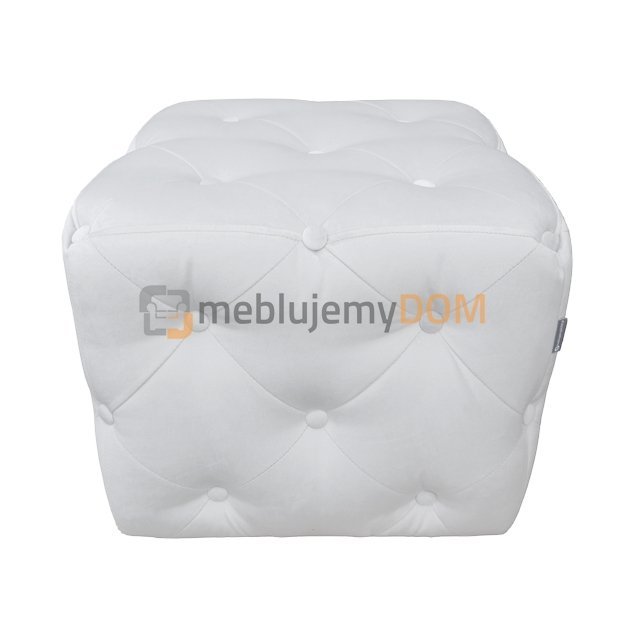 pouf cube pik with crystals 50 x 50 cm meblujemydom. Black Bedroom Furniture Sets. Home Design Ideas