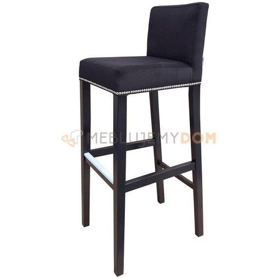 new style 7febc eefd3 Bar stool NARROW with thumbtacks and knocker 113 cm ...