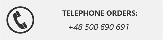 Telephone orders: +48 500 690 691