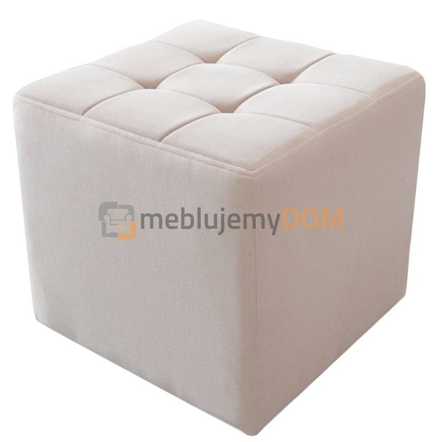 pouf cube pik square 50 x 50 cm meblujemydom. Black Bedroom Furniture Sets. Home Design Ideas