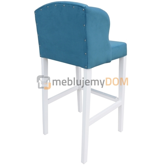 Bar stool USZAK PIK with crystals 107 cm