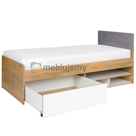 Bed with mattress MALMO 200 x 90 cm