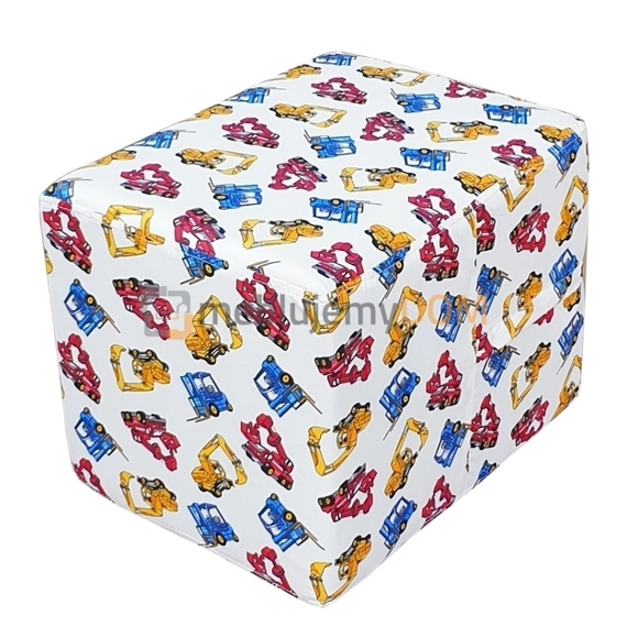 Children's pouf TOMMY 40 x 30 cm