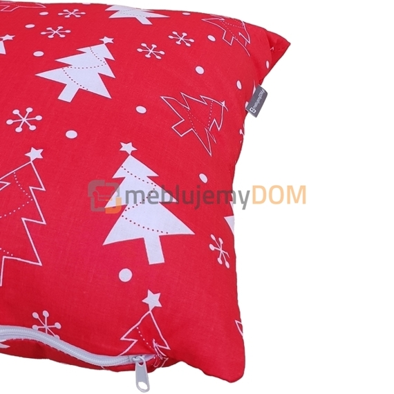 Christmas pillow RED 40 x 40 cm