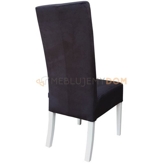 OBLIQUE PIK chair with buttons and handle 107 cm