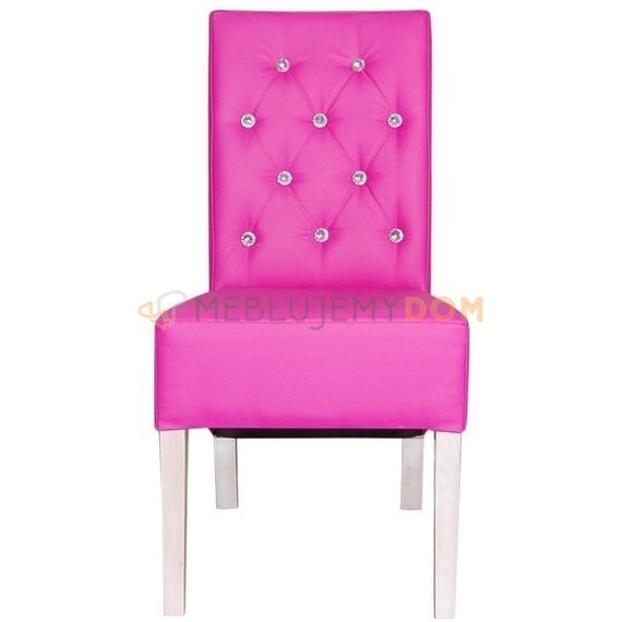 OBLIQUE PIK chair with crystals 98 cm